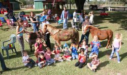Kids pony party Orlando Florida painting